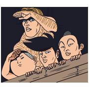 สติ๊กเกอร์ไลน์ Ike! Inachu Takkyu-bu
