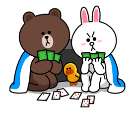 Brown & Cony's Lovey Dovey Date sticker #15059