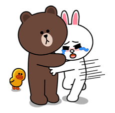 Brown & Cony's Lovey Dovey Date sticker #15064