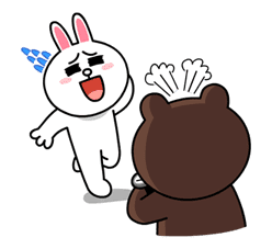 Brown & Cony's Lovey Dovey Date sticker #15074