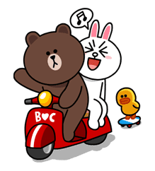 Brown & Cony's Lovey Dovey Date sticker #15079