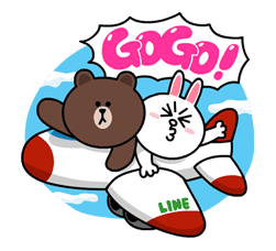 Brown & Cony's Lovey Dovey Date sticker #15080