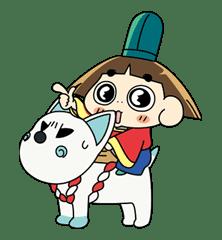 Ojarumaru sticker #5303