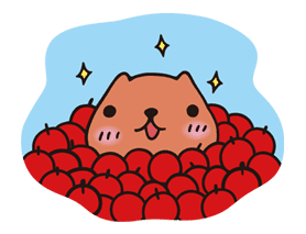 KAPIBARA-SAN sticker #6241