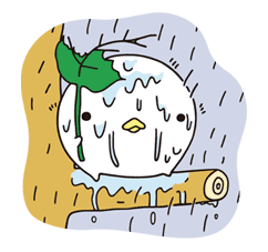 KAPIBARA-SAN sticker #6247