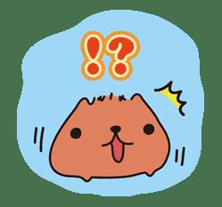 KAPIBARA-SAN sticker #6252