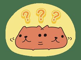 KAPIBARA-SAN sticker #6253
