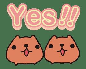 KAPIBARA-SAN sticker #6256