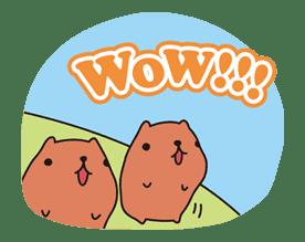 KAPIBARA-SAN sticker #6262