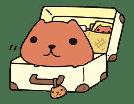 KAPIBARA-SAN sticker #6271