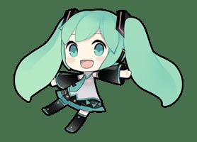 Hatsune Miku sticker #7591