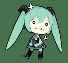 Hatsune Miku sticker #7593