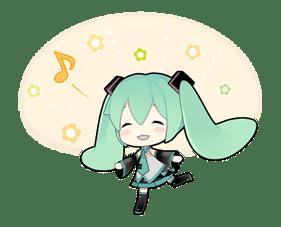 Hatsune Miku sticker #7596