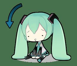 Hatsune Miku sticker #7599