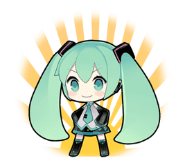 Hatsune Miku sticker #7600