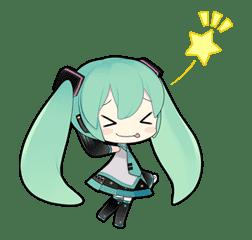 Hatsune Miku sticker #7602