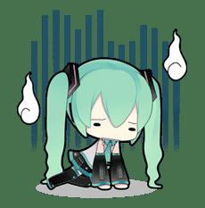 Hatsune Miku sticker #7603