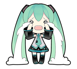 Hatsune Miku sticker #7607