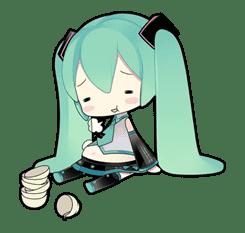 Hatsune Miku sticker #7608