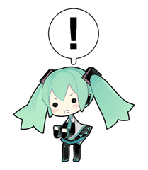 Hatsune Miku sticker #7610