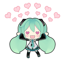 Hatsune Miku sticker #7611