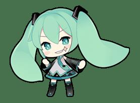 Hatsune Miku sticker #7612