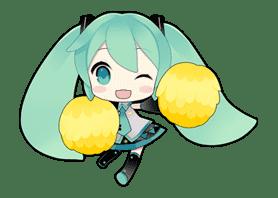 Hatsune Miku sticker #7613