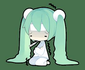 Hatsune Miku sticker #7614