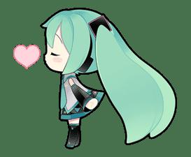 Hatsune Miku sticker #7615