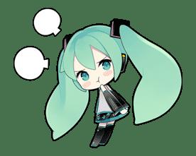 Hatsune Miku sticker #7616