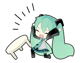 Hatsune Miku sticker #7617