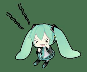 Hatsune Miku sticker #7618