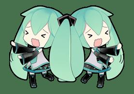 Hatsune Miku sticker #7619