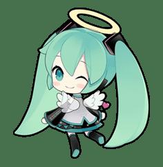 Hatsune Miku sticker #7620