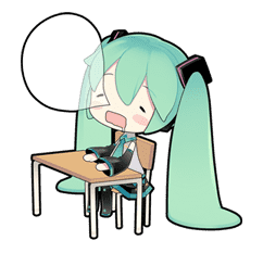 Hatsune Miku sticker #7621