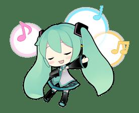 Hatsune Miku sticker #7623
