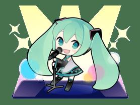 Hatsune Miku sticker #7624