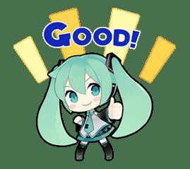 Hatsune Miku sticker #7627