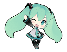 Hatsune Miku sticker #7628