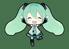 Hatsune Miku sticker #7629