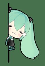 Hatsune Miku sticker #7630