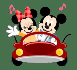 Disney LOVELOVE sticker #8873