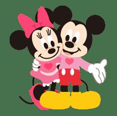 Disney LOVELOVE sticker #8876