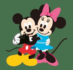 Disney LOVELOVE sticker #8877