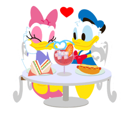 Disney LOVELOVE sticker #8882