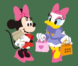 Disney LOVELOVE sticker #8890
