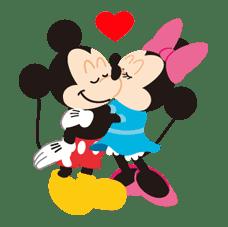 Disney LOVELOVE sticker #8905