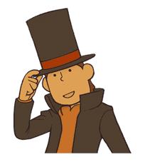 Professor Layton sticker #9368