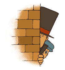Professor Layton sticker #9376