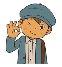 Professor Layton sticker #9379